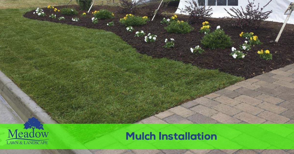 Flowerbed Mulch Installation Services