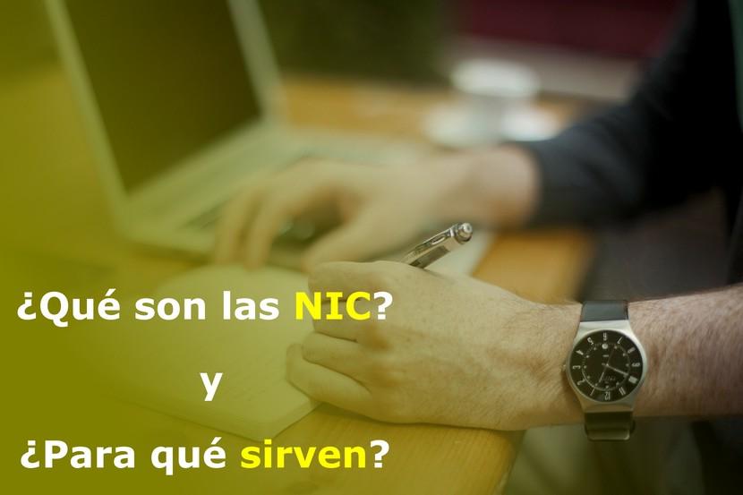 Que son las NIC y para que sirven