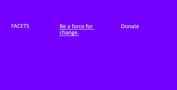 Be a force for change. Donate today.