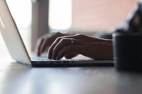 Credit decision | laptop worker