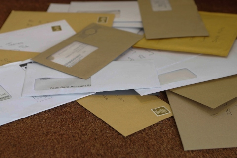 Output management | Pile of mail