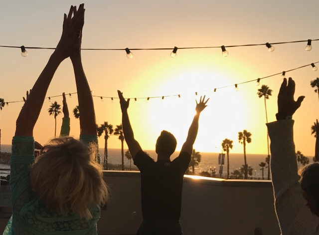 54 Sun Salutes:  Spring Equinox Practice