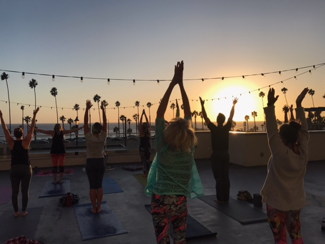 108 Sun Salutes on the Roof:  Summer Solstice Practice