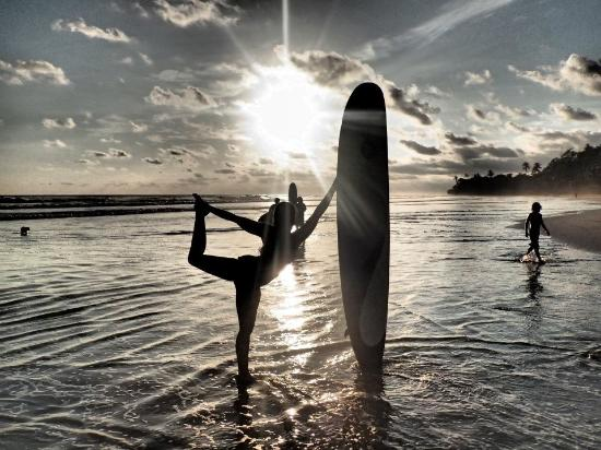 Yoga+Surf Class