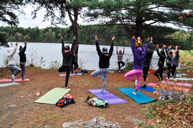 Yoga+Hike+Walking Labyrinth MeditationClass
