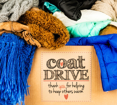 "Early Bird:  ""Thanks for Giving"" Donation Class/Coat Drive"