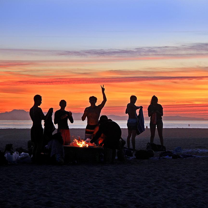 SURF-54 SALS-SUNSET BONFIRE: Autumn Equinox Celebration