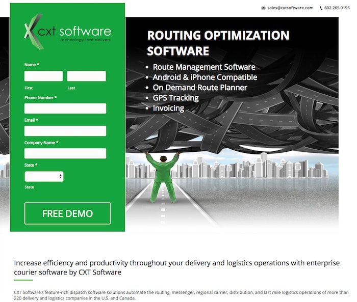 Routing Optimization Software