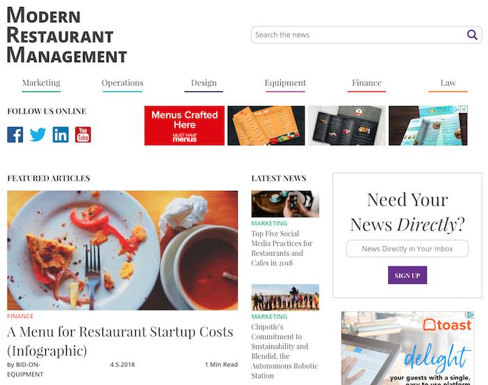 Restaurant Industry Blog