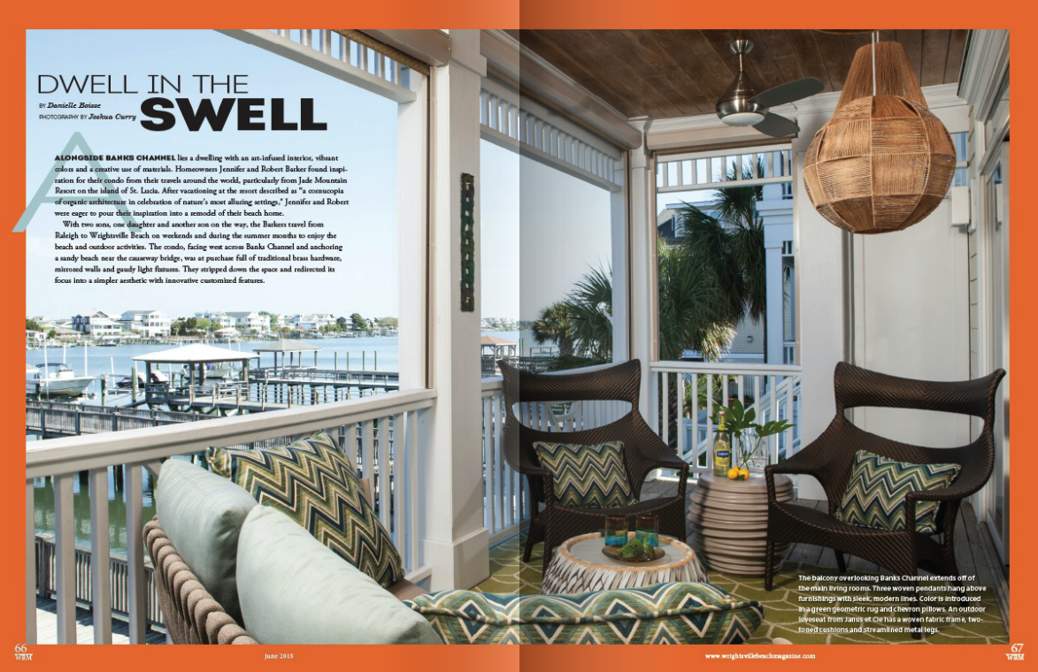 Wrightsville Beach Magazine, June 2015