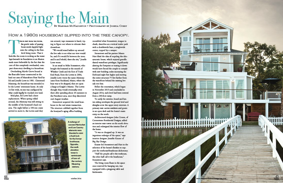 Wrightsville Beach Magazine, October 2014