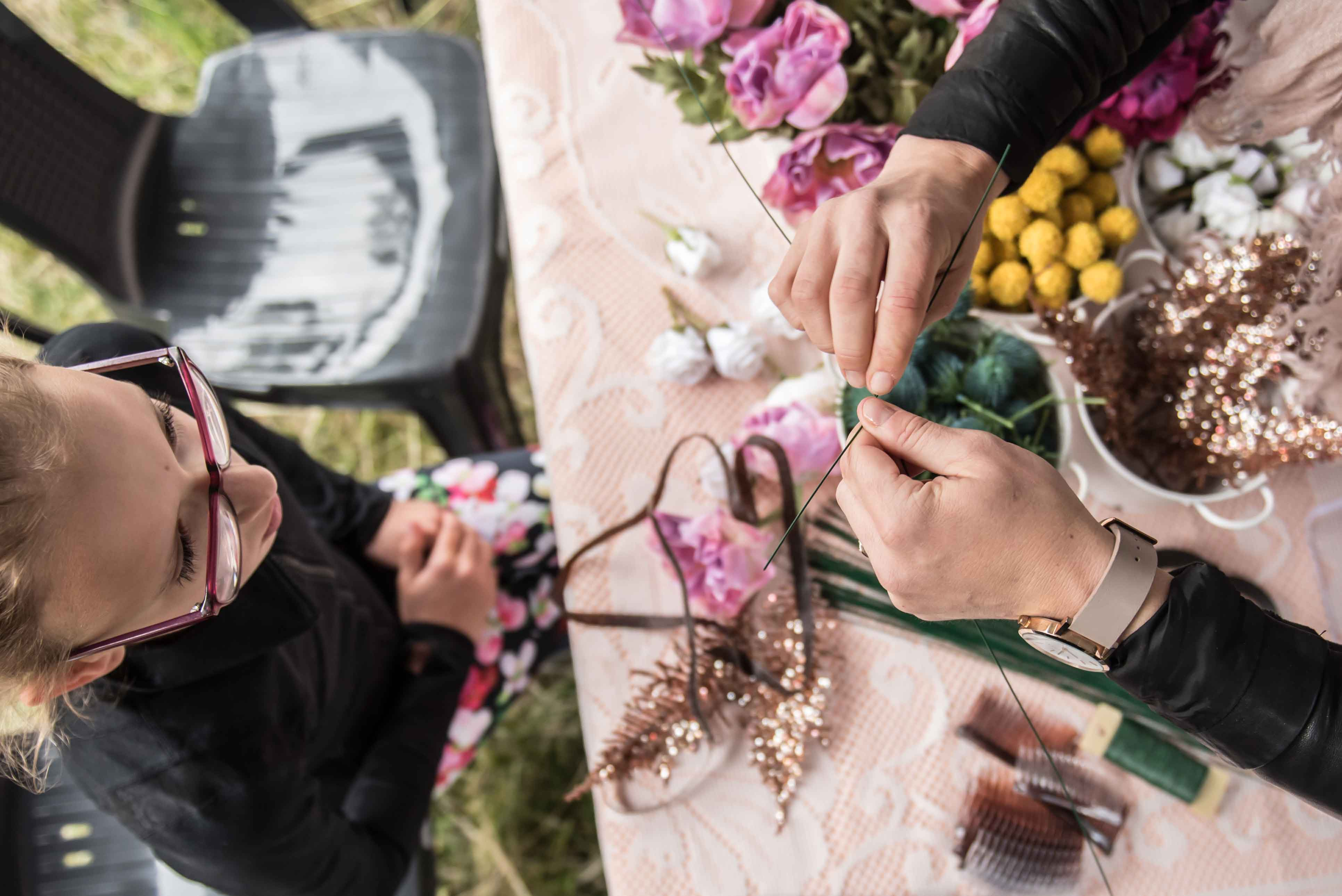 workshop:FLEUR & DAHLIA CHRISTMAS THEMED FLOWER CROWns
