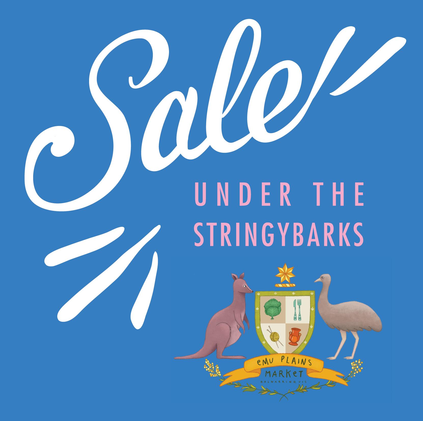 Sale #underthestringybarks