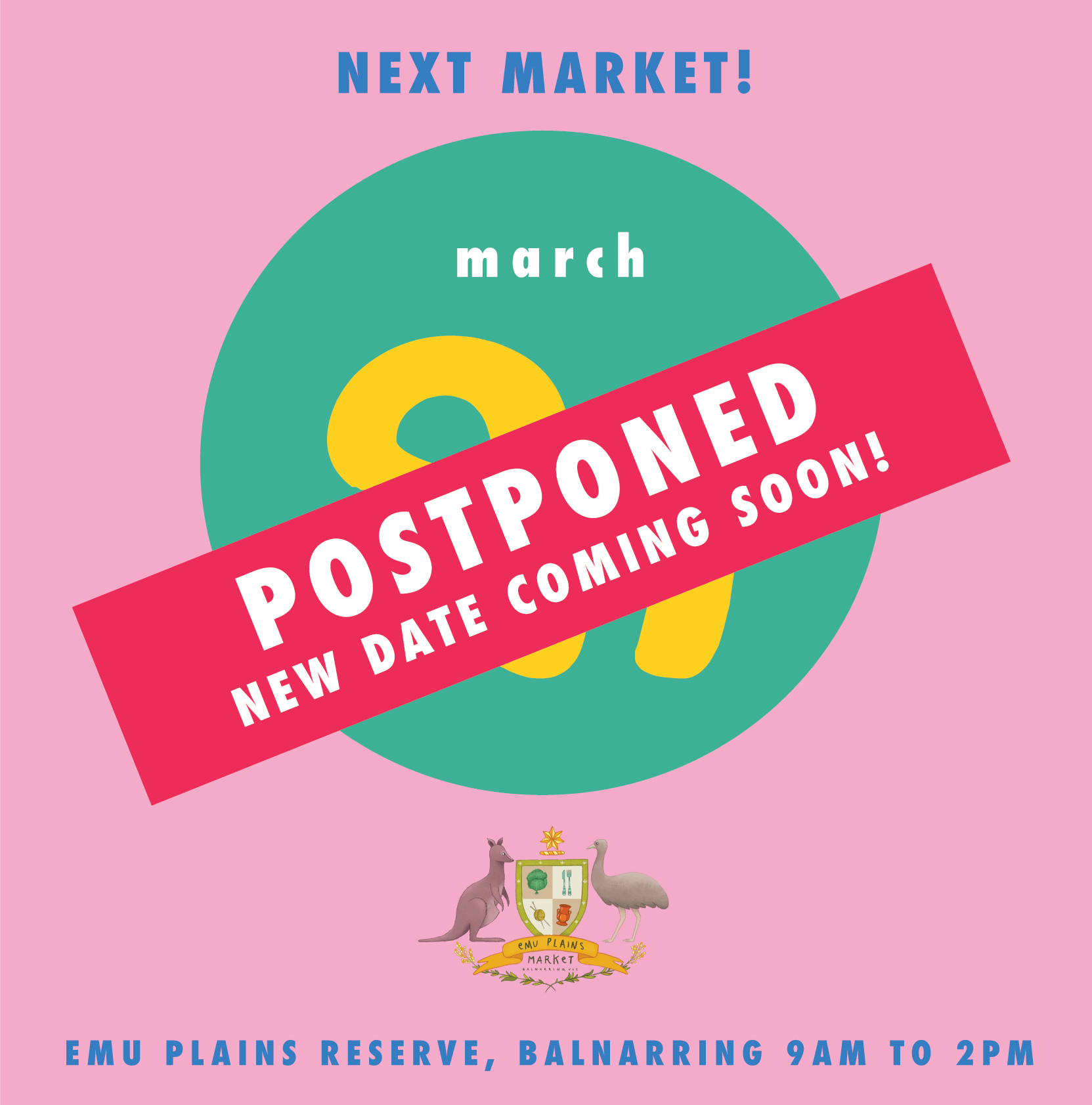 OUR BELOVED MARCH EPM HAS BEEN POSTPONED