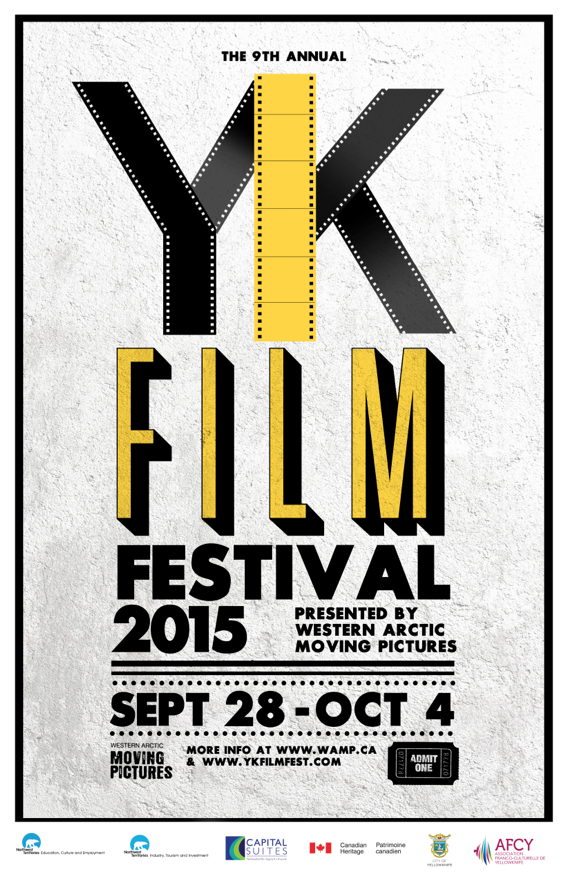 The 2015 Yellowknife International Film Festival Poster