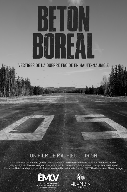 Poster from short film, Cold Concrete/Beton Boreal.