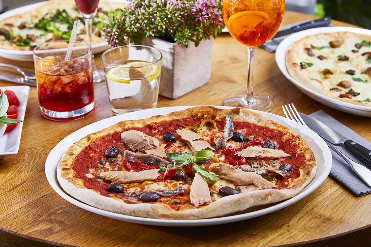 Pizza Papaccella e Tonno