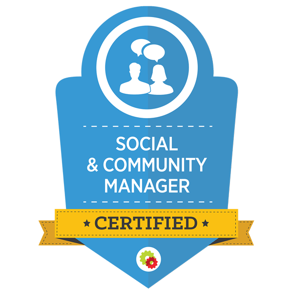 digital marketer social & community manager certificate