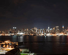 NYC SKYLINE NIGHT SHOOT
