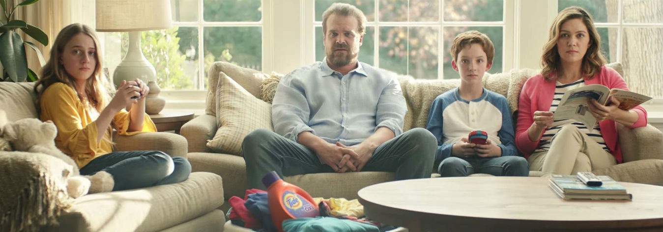 Tide, Tide Ad, People, David Harbour,