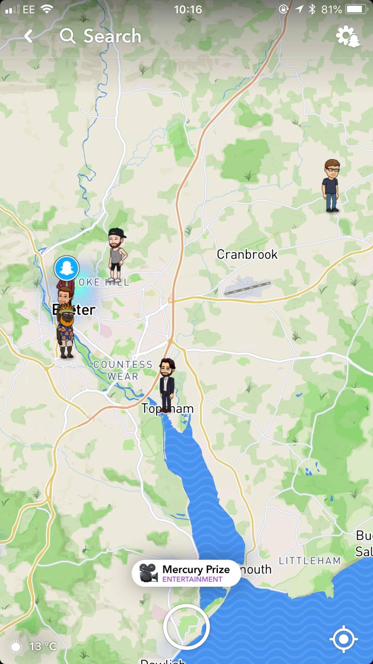 Snapchat, map, social media, snapmap,