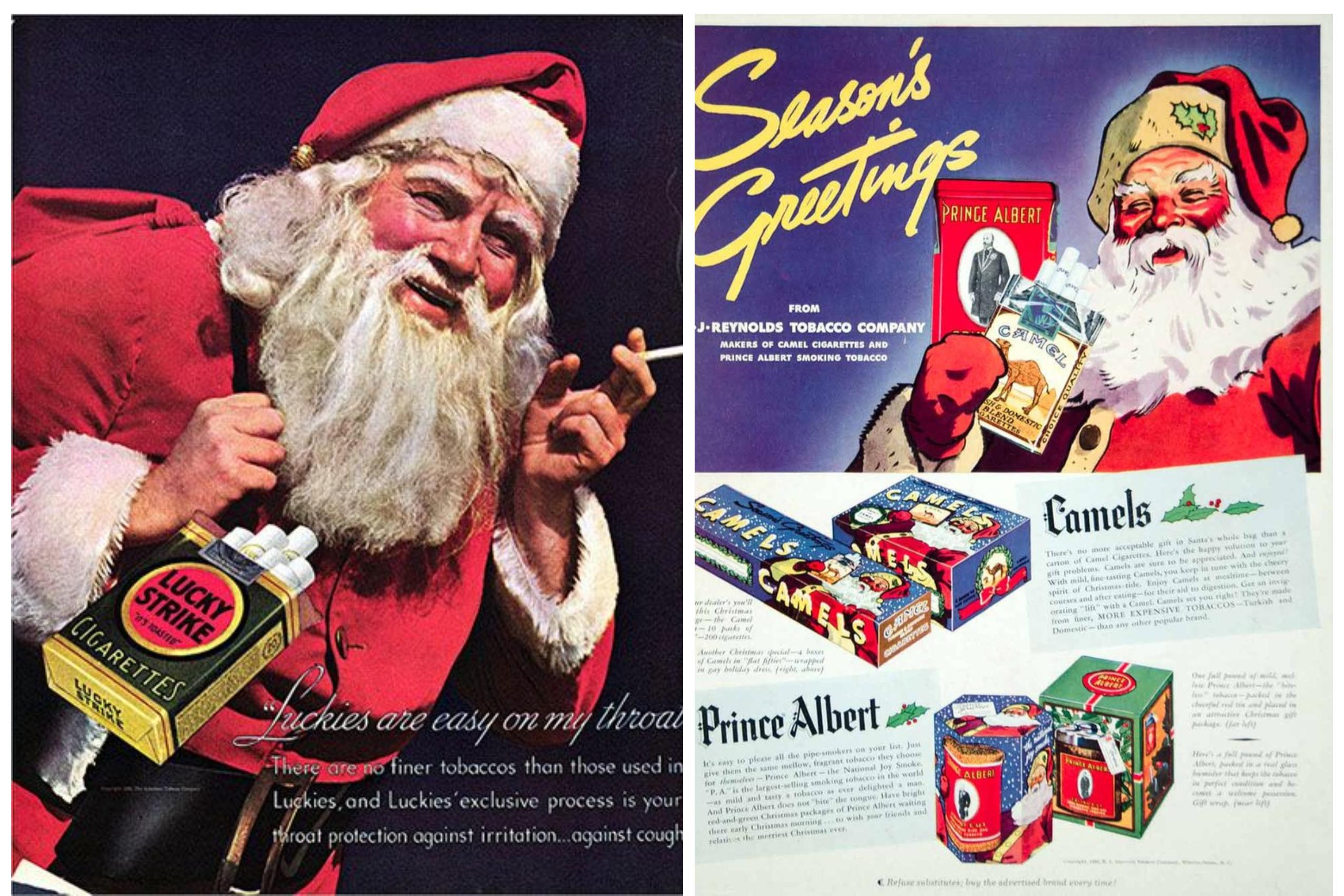 smoking santa 1