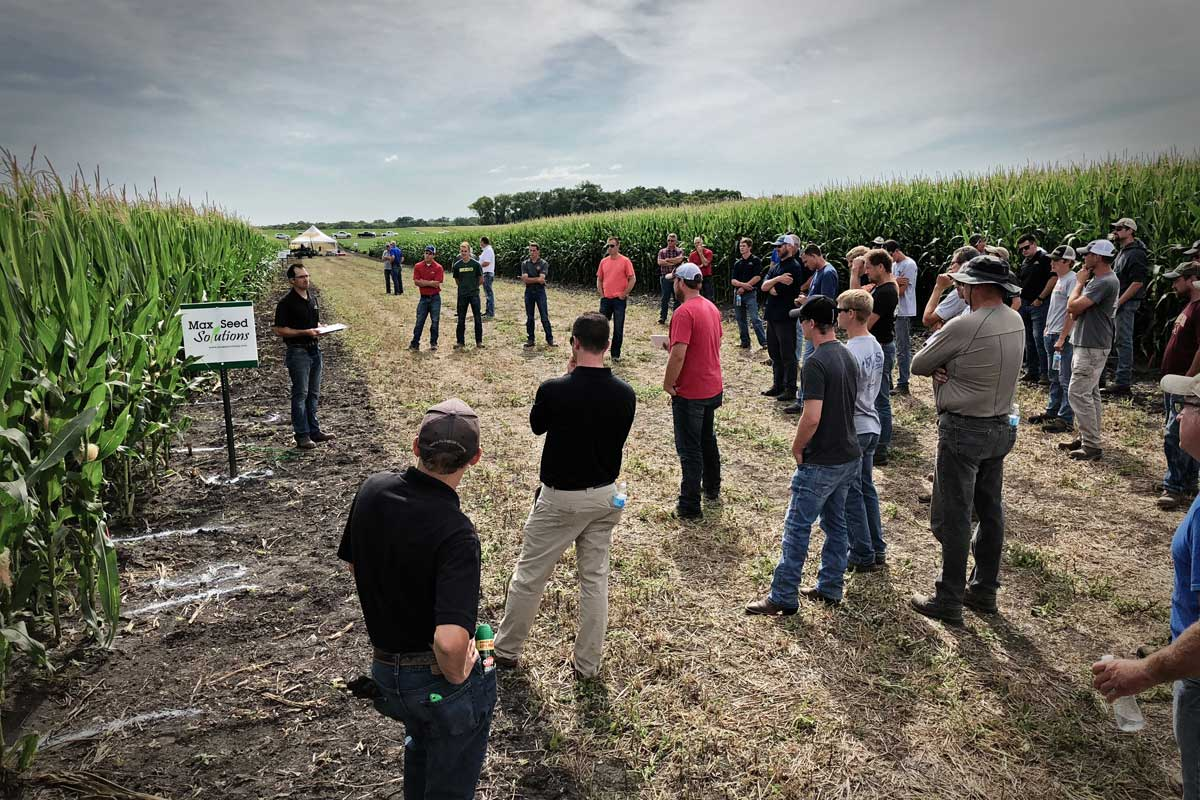Max Seed Solutions Field Day