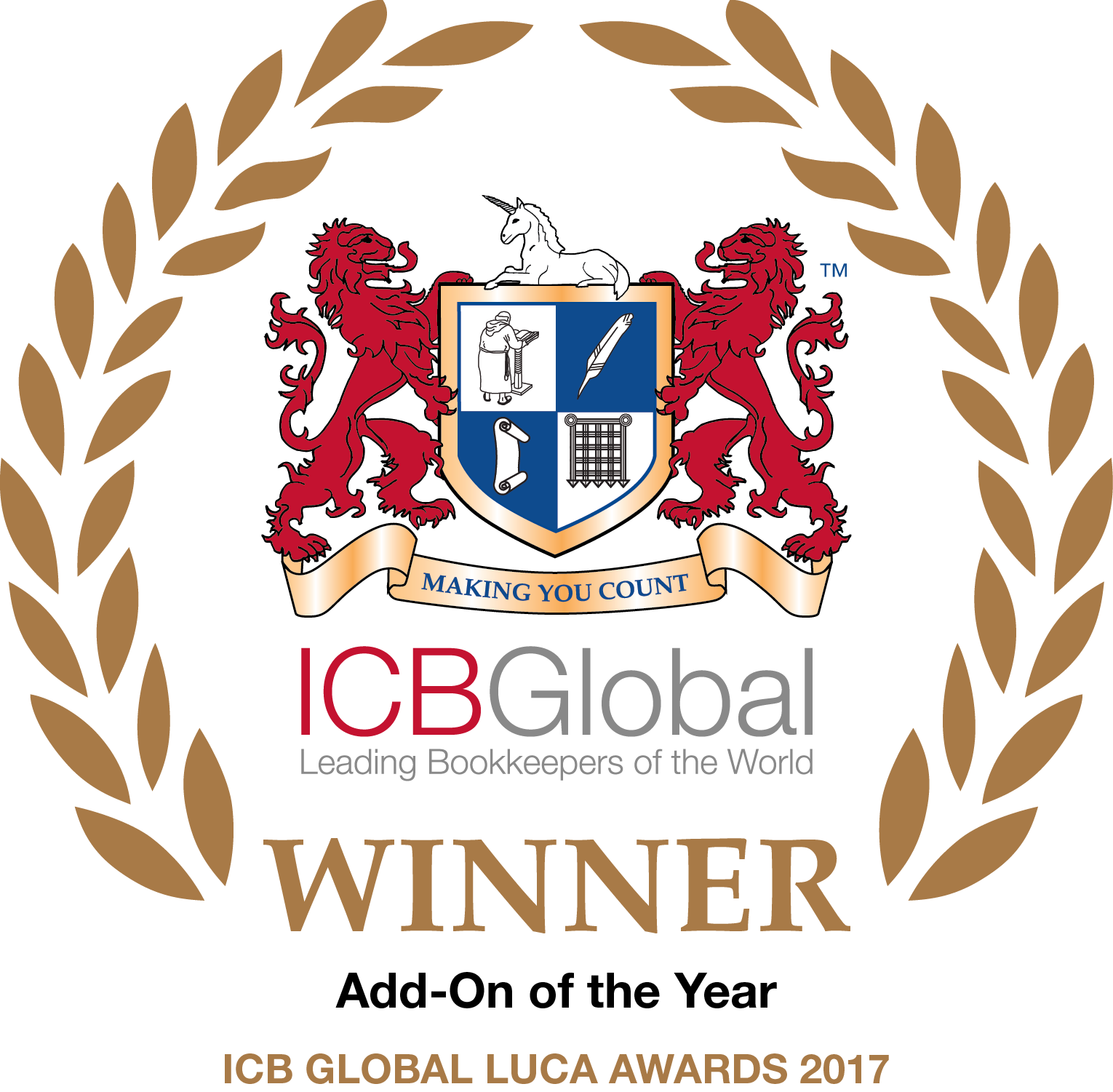 ICB Global Add-on of the year Winner 2017