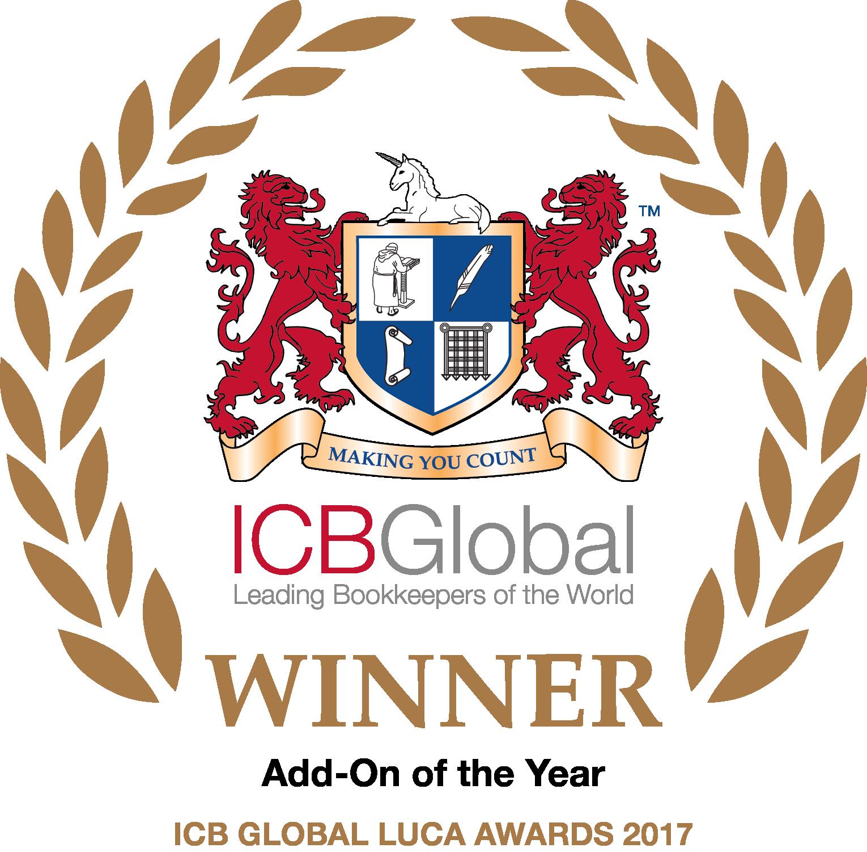 ICB Global Add-on of the year Winner 2017