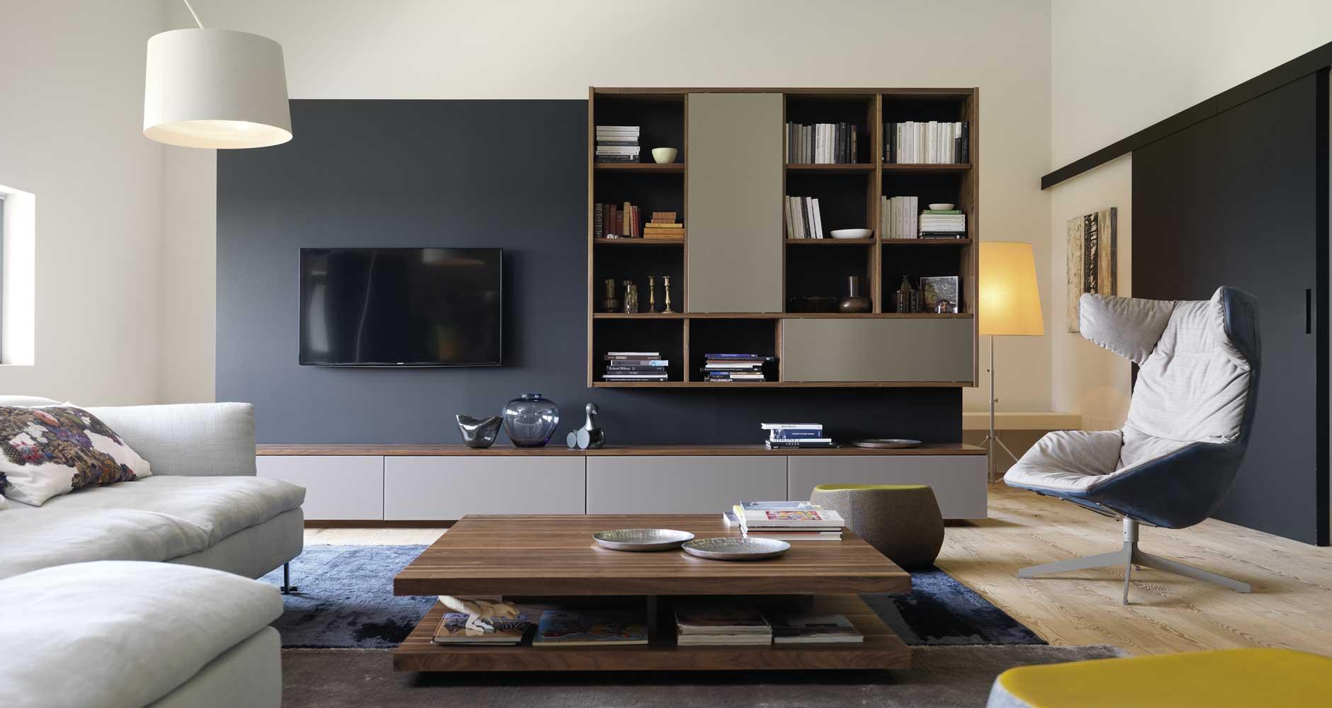 Wohnzimmer von TEAM7