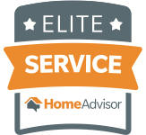 Awarded for Elite Service by HomeAdvisor