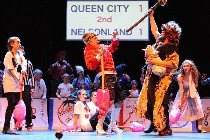 Alice in Nelsonland pantomime