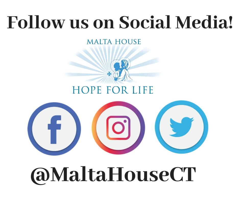 Follow Malta House on Social Media!