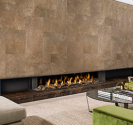 Energy saving fireplace