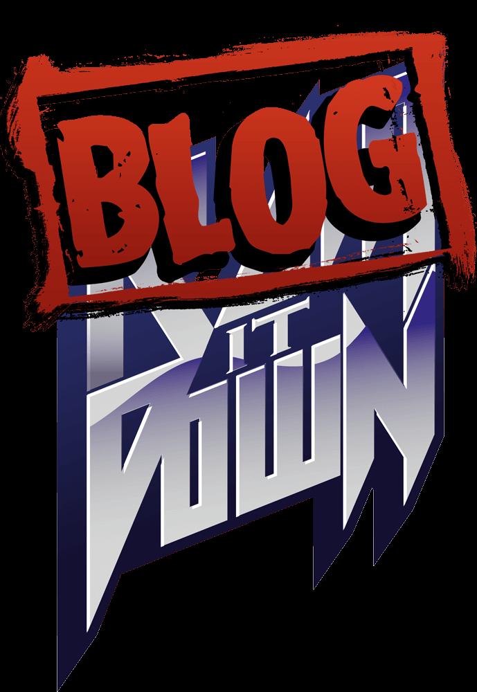 Blog It Down Logo (Ram It Down Records)