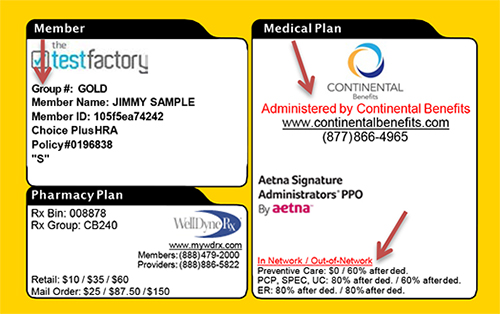 Aetna Provider Enrollment >> aetna health insurance card | Howtoviews.co