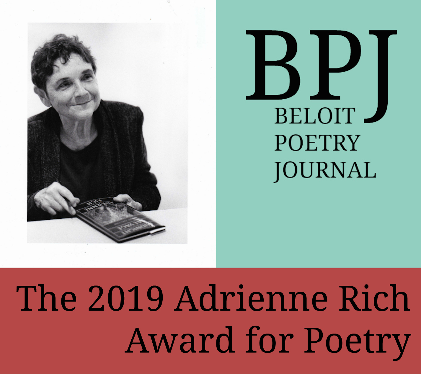 Submissions Open for 2019 Adrienne Rich Award for Poetry