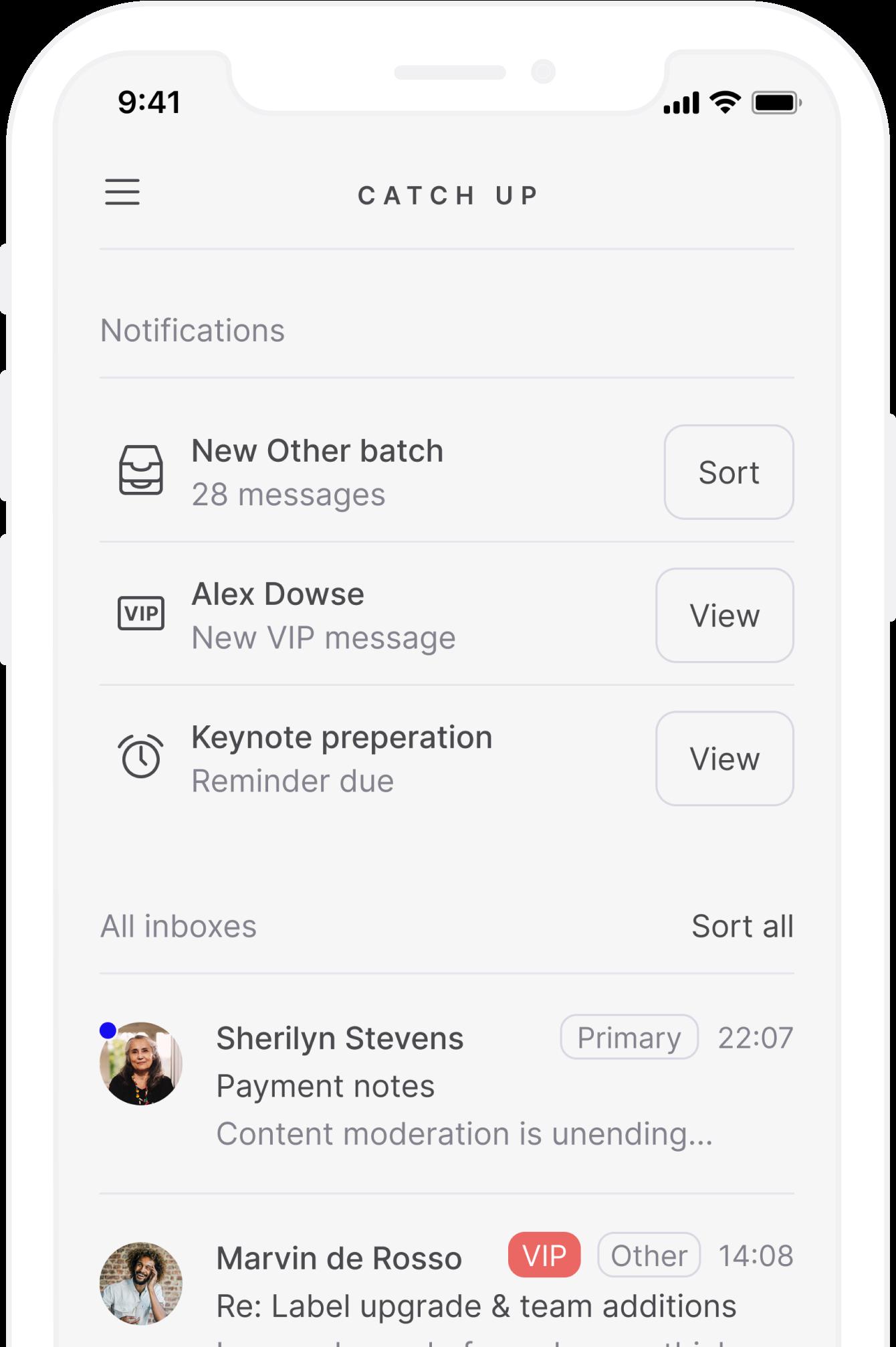 Screenshots of Tempo for iOS