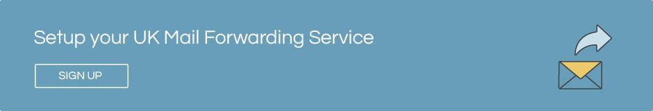 UK mail forwarding service