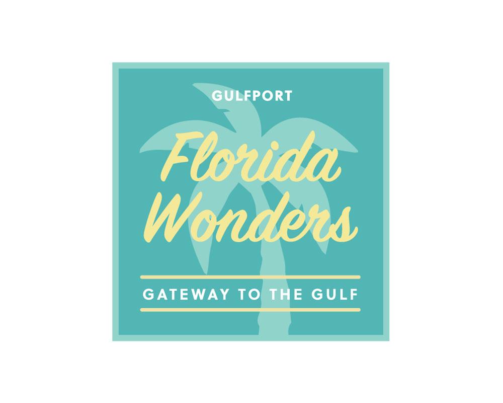 Florida Wonders Logo in Gulfport, FL.