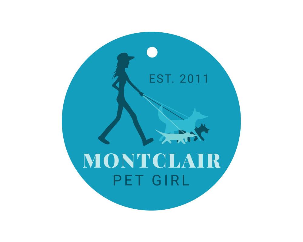 Montclair Pet Girl Logo in Montclair, NJ.