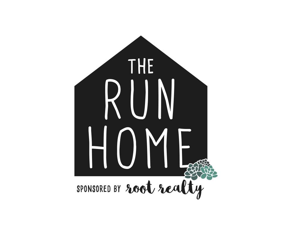 The Run Home 5K Logo in Jacksonville, FL.