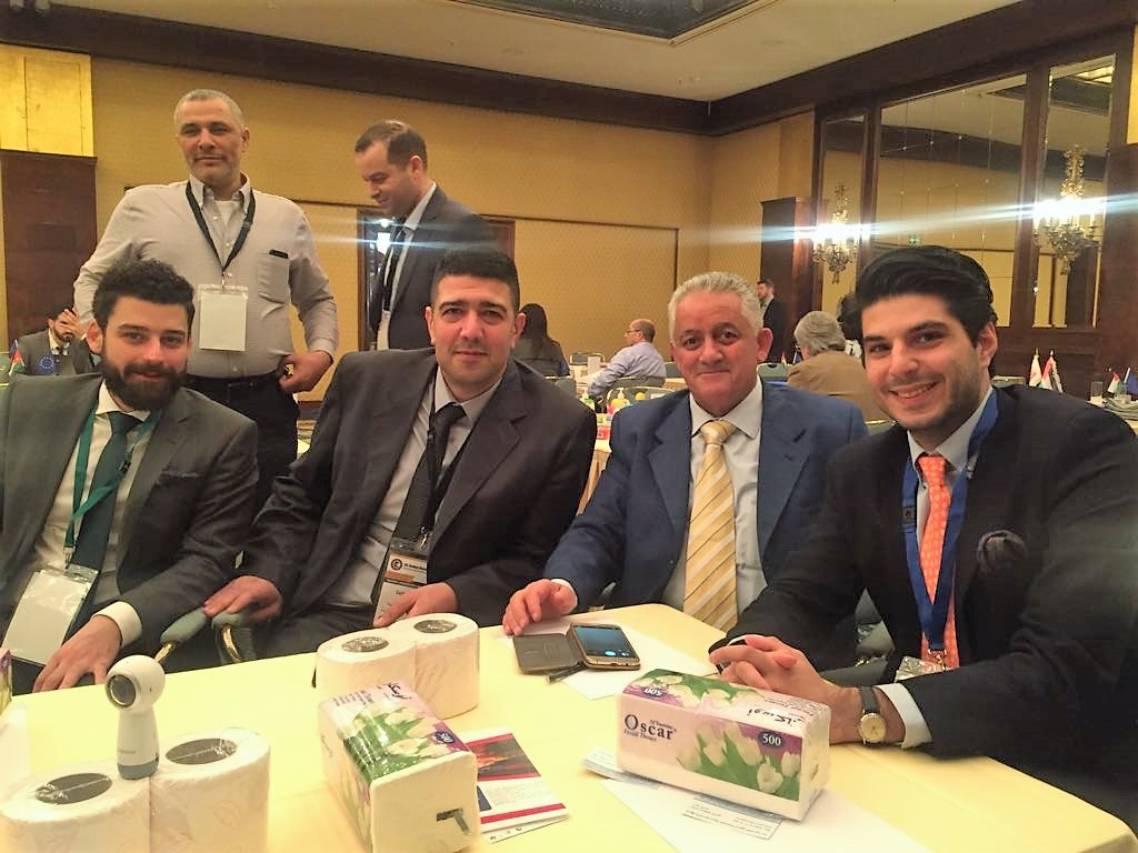 GERMELA expert consulting with Jordan business representatives