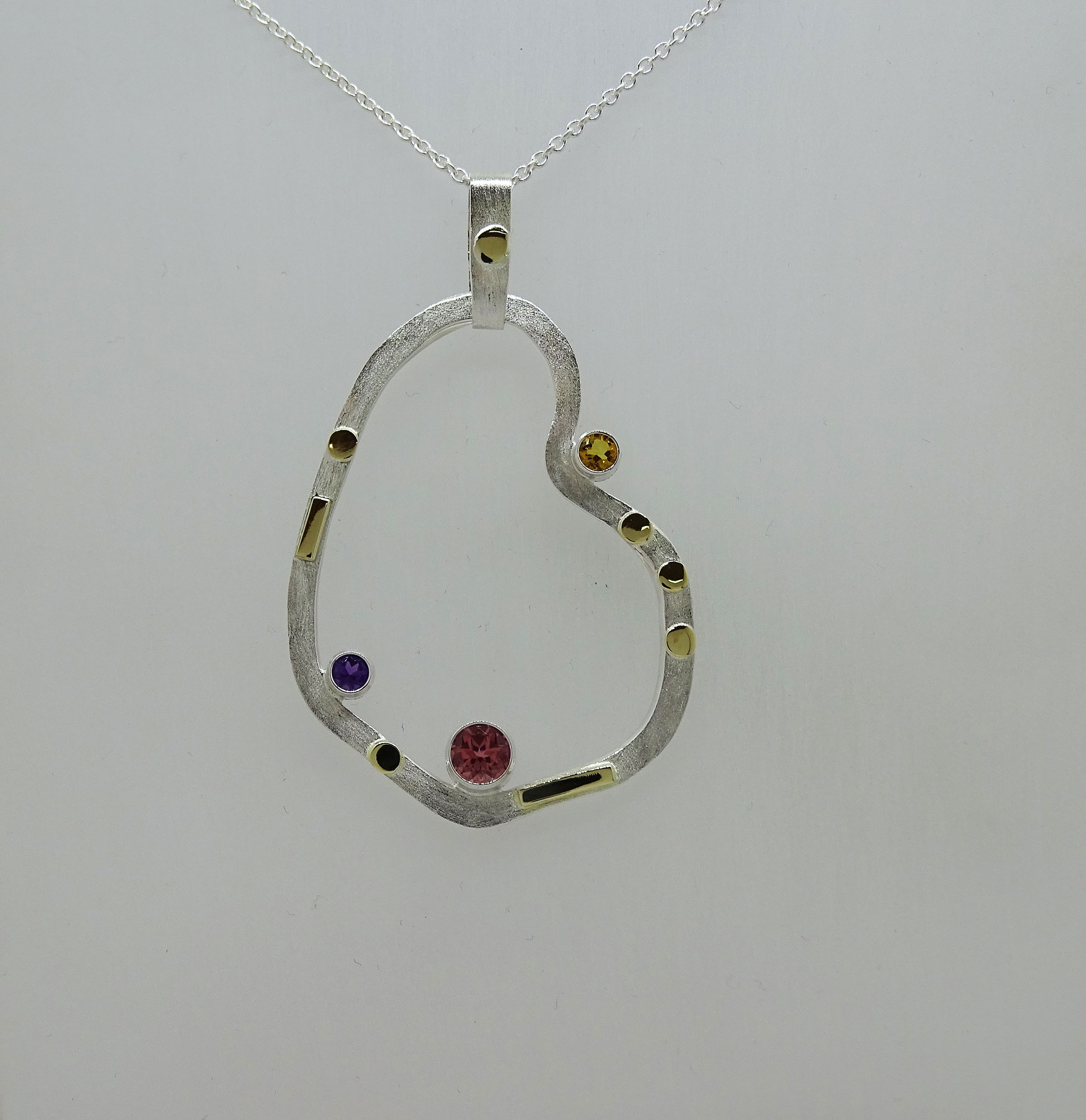 Abstract Form Pendant