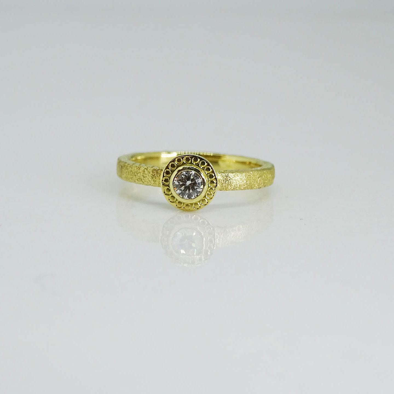 Diamond Ring NU Goldsmith