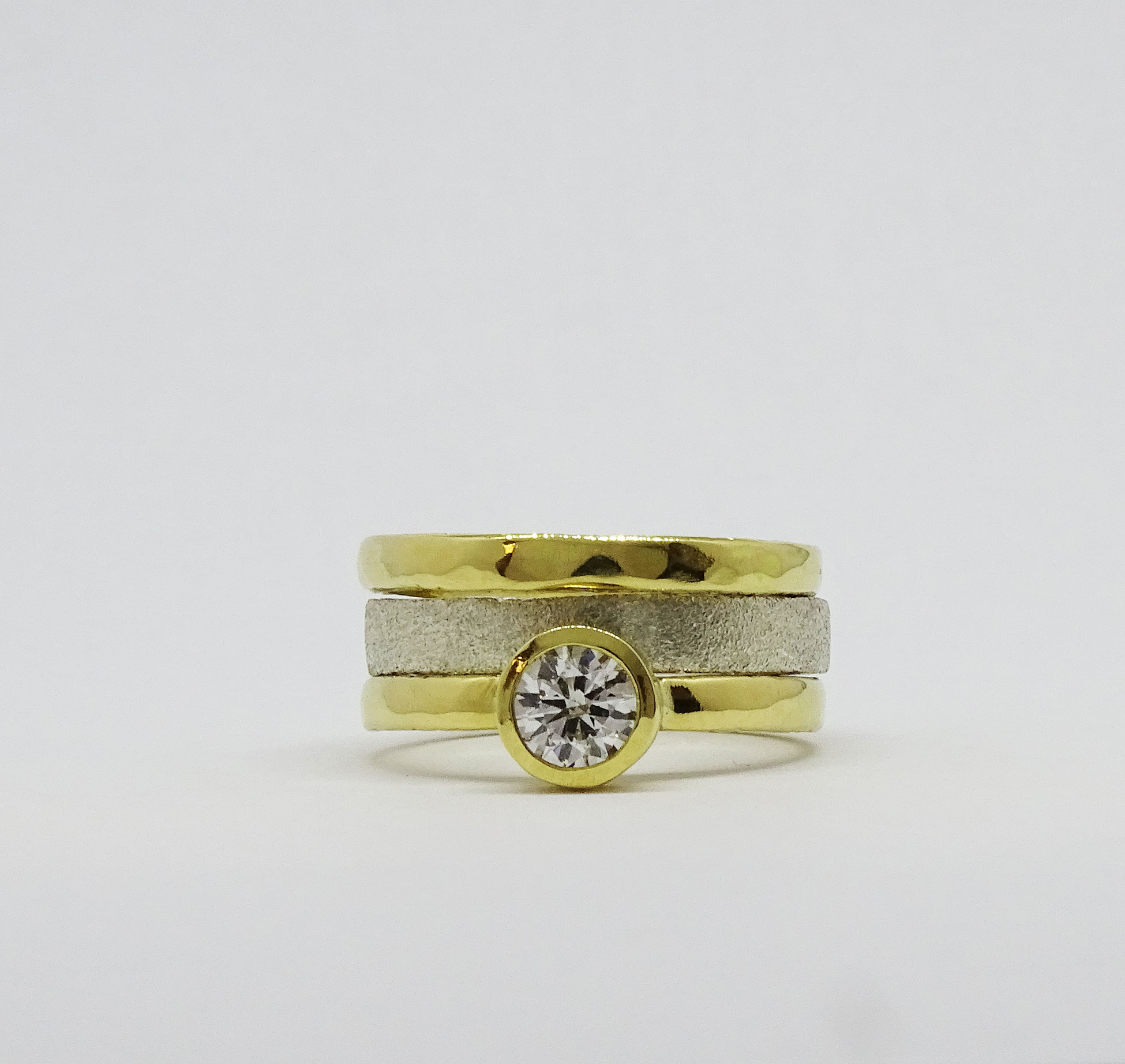 Five Ring Stack NU Goldsmmith
