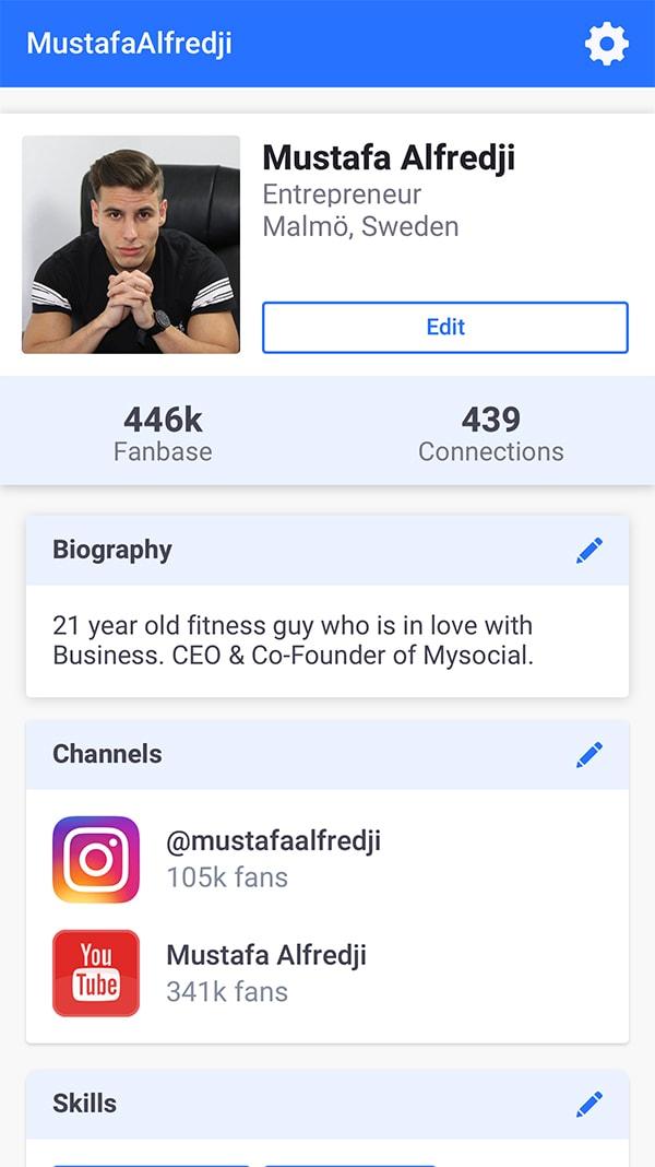 Mysocial - Creator Profile