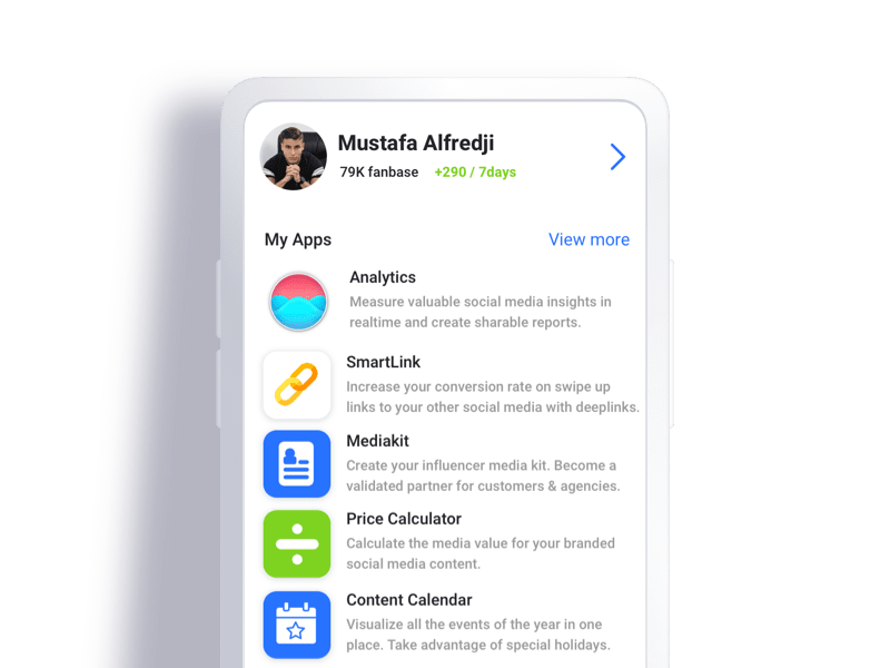 Mysocial App Store