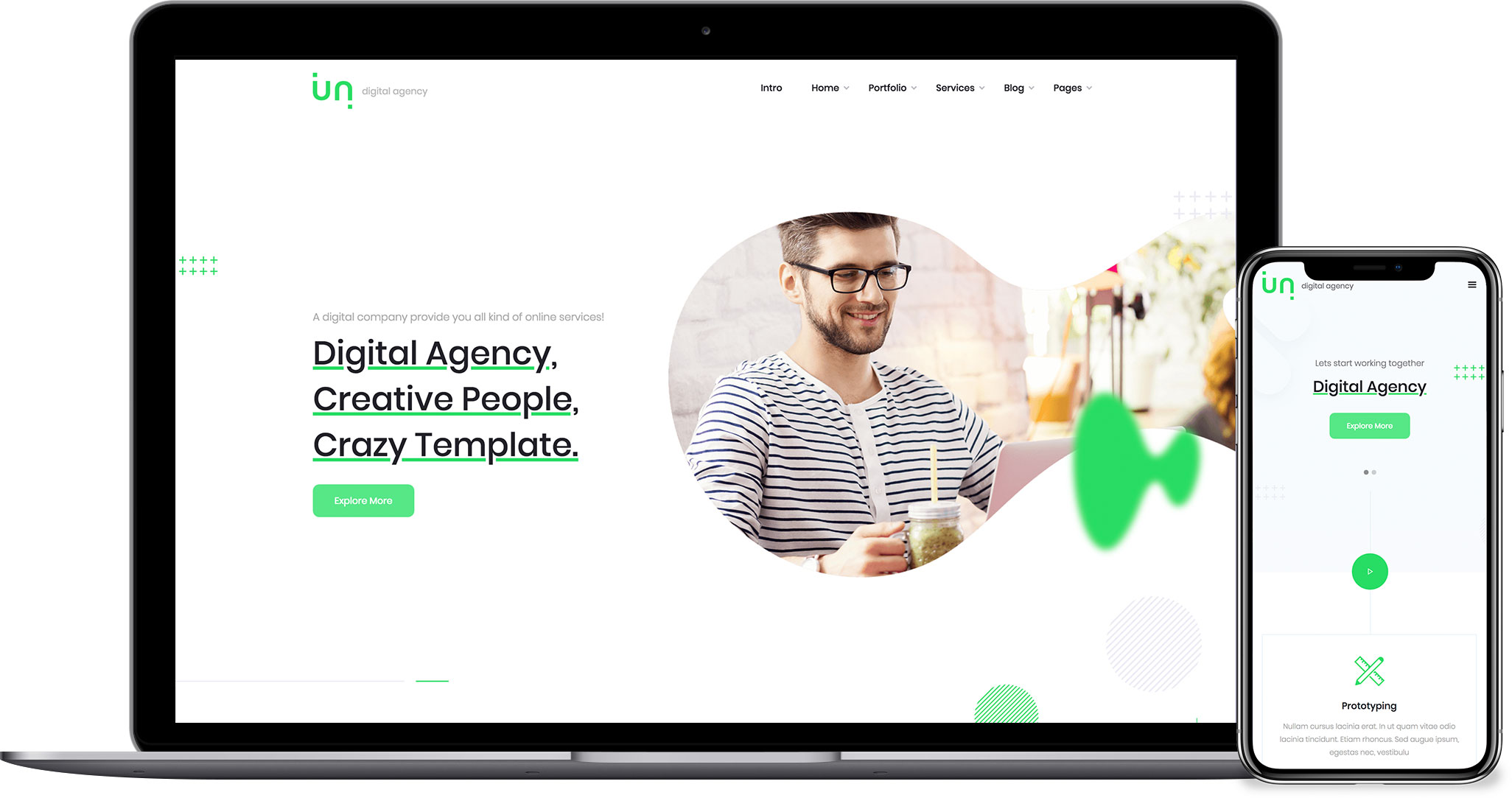 Unlimited - Business HTML5 Responsive Website Template 58f15d847f92