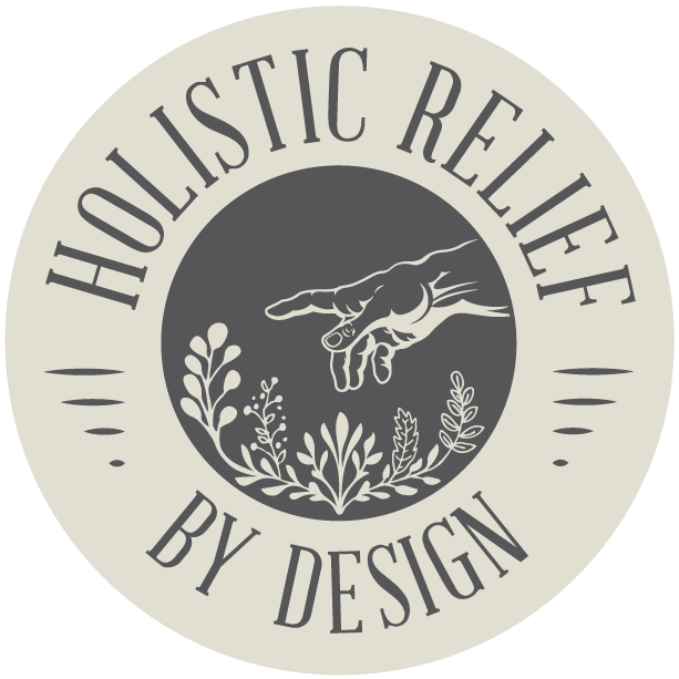 Holistic Relief By Design Footer Logo